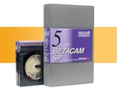 Оцифровка кассет Betacam, DVcam