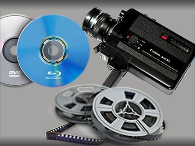 Оцифровка плёнки 8 мм и 16 мм