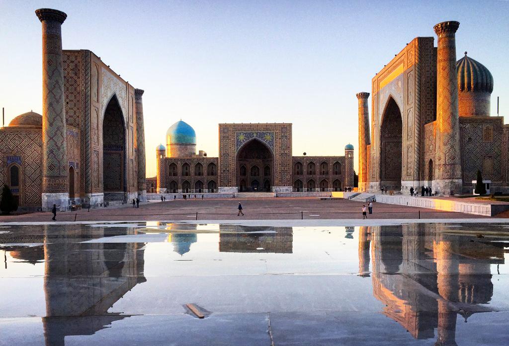 Отправка факса в Узбекистан